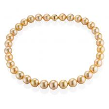 Мikimoto  NECKLACE, GOLDEN SOUTH SEA