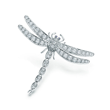 Tiffany & Co DRAGONFLY BROOCH LARGE SIZE