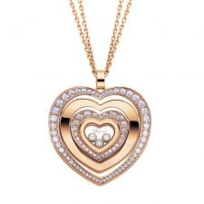 Chopard HAPPY DIAMONDS HEART NECKLACE
