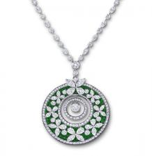 GRAFF BUTTERFLY MEDALLION NECKLACE