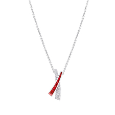 GRAFF KISS RUBY PENDANT
