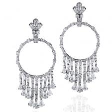 GRAFF GYPSY EARRINGS 15.08 CT