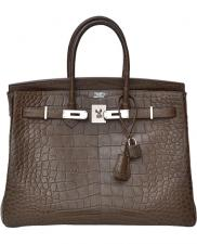Hermes Birkin 30 Alligator Crocodile Matte