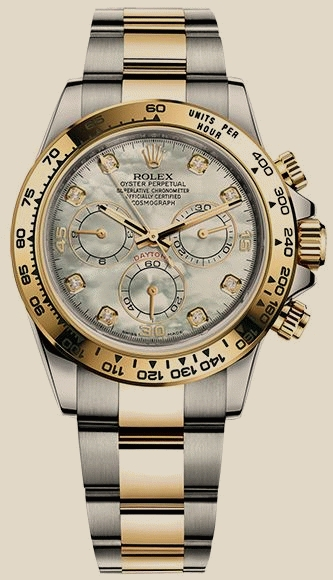 Rolex - 116503 WhiteMOP Diamonds