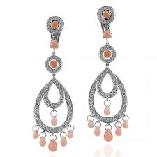 Boucheron AVA CORAL EARRINGS