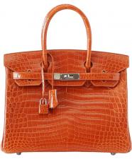 Hermes Birkin 35 cm Feu Orange
