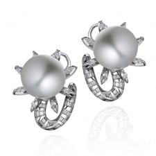 Schreiner NEO HAUTE JOAILLERIE. OCTOPUS EARRINGS