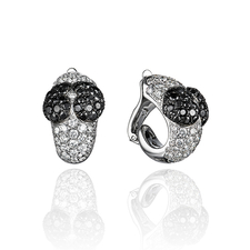 Chopard PAIR OF DIAMOND EARCLIPS
