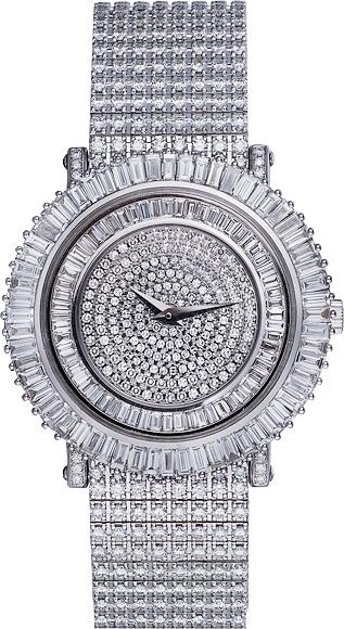 часы шопард белое золото